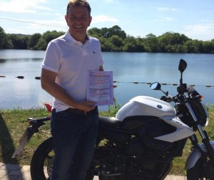 Arran Atkinson passes CBT in Staines