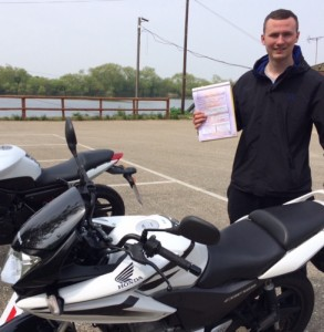 Ashley Crowe passes CBT in Staines