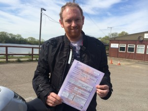 Dave Restell passes CBT in Staines
