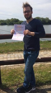 James Huntly passes CBT in Staines