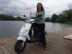 Joanne Cairns passes her CBT at Staines
