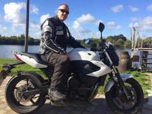 Gary Smith passes CBT at Staines