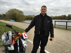 James Udell passes Module 2 with Motorcycle Training in Surrey