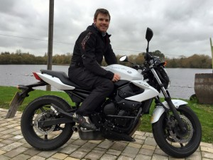 Lewes Beavon passes Module 2 at Uxbridge with Motorcycle Training in Surrey