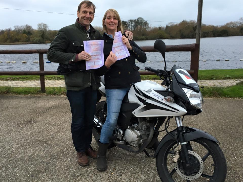 Paul Hounsham passes CBT with Motorcycle Training in Surrey