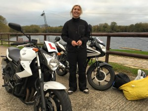 Pearl Sumariwalla passes CBT at Staines with Motorcycle Training in Surrey