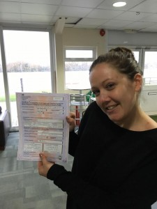 Dannielle Morby passes CBT in Staines with Motorcycle Training in Surrey