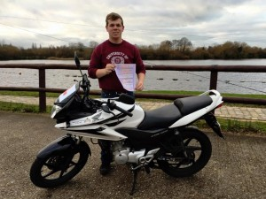 Nick Cockle passes CBT at Staines with Motorcycle Training in Surrey