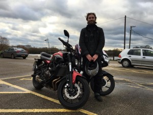 Archie Stephens passes CBT at Staines with Motorcycle Training in Surrey