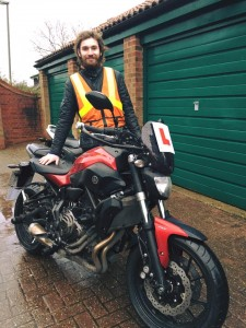 Archie Stephens passes Module 2 at Uxbridge with Motorcycle Training in Surrey