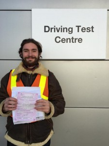Archie Stephens passes Module 1 at Uxbridge with Motorcycle Training in Surrey