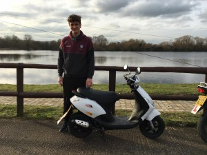 Max Ayling passes CBT at Staines with Motorcycle Training in Surrey