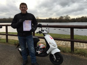 Ollie Ellery passes CBT in Staines with Motorcycle Training in Surrey