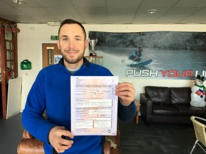 Trevor Mannion passes CBT at Staines with Motorcycle Training in Surrey