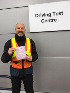 Andrew Tillet passes Module 1 at Uxbridge with Motorcycle Training in Surrey