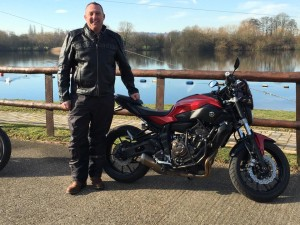 Mark Grimshaw passes Module 1 at Uxbridge with Motorcycle Training in Surrey