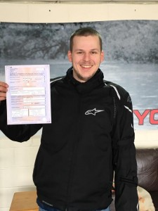 Shaun Payne passes CBT in Staines with Motorcycle Training in Surrey