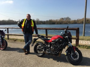 Mark Grimshaw passes Module 2 at Uxbridge with Motorcycle Training in Surrey