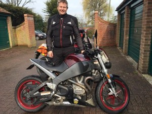 Jens Sverdrup passes Module 2 at Farnborough with Motorcycle Training in Surrey