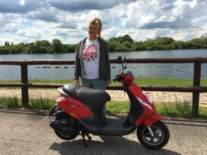 Carlie Glew passes CBT at Staines with Motorcycle Training in Surrey
