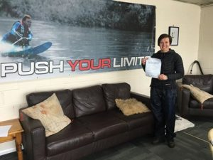 Charley Hall passes Module 2 at Uxbridge with Motorcycle Training in Surrey