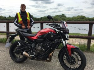 Hayley Austin passes Module 1 at Uxbridge with Motorcycle Training in Surrey