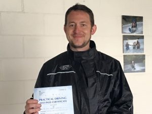 Cian Obrion passes Module 2 at Uxbridge with Motorcycle Training in Uxbridge