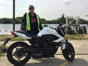 Sara passes CBT at Staines with Motorcycle Training in Surrey