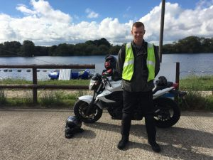 Thomas Maher passes Module 1 at Uxbridge with Motorcycle Training in Surrey