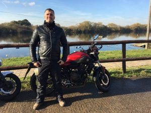 Paul Stead passes Module 1 at Uxbridge with Motorcycle Training in Surrey