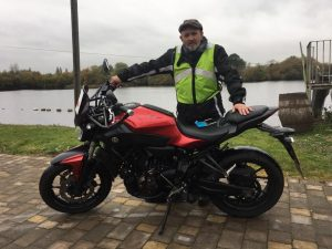 Rich Norris passes Module 2 with Motorcycle Training in Surrey