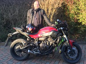 James May passes Module 2 at Farnborough with Motorcycle Training in Surrey