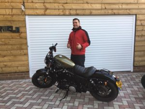 Paul Stead passes Module 2 at Farnborough with Motorcycle Training in Surrey